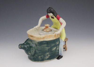 The Potters Teapot, Christine Reynolds