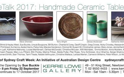 TableTalk 2017: Handmade Ceramic Tableware