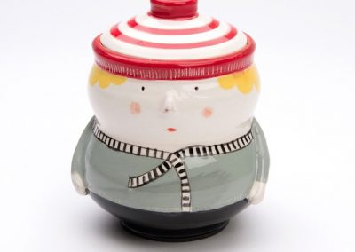 Lidded Container by Alison Smiles