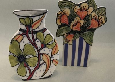 Vases by Mary-Lou Pittard