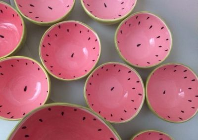 Watermelon Bowls by Christine Wallace