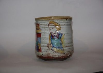 Illustrated Vessel by Clarissa Regan