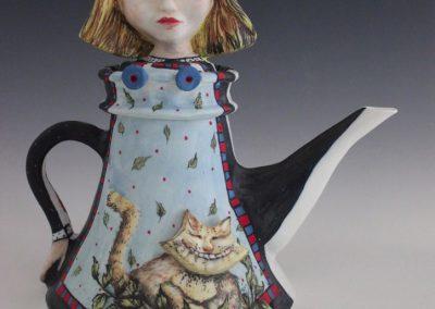 Marina Pribaz - reverse side: Alice