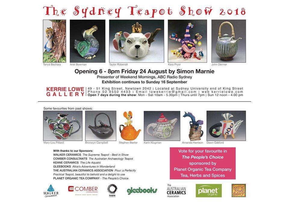 The Sydney Teapot Show 2018