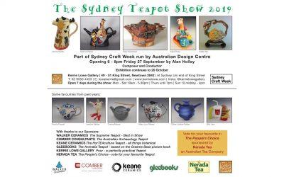 The Sydney Teapot Show 2019