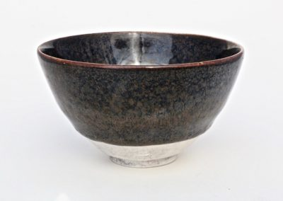 No 1. Tenmoku Style Bowl  Diam 130mm  $400