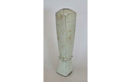 No 81.  Pale Blue Guan Glazed Bottle  Height 290mm  $500