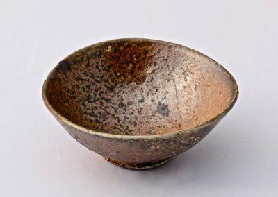 No 22.  Unglazed Woodfired Bowl  Crushed Stone Body  Diam 120mm  $400