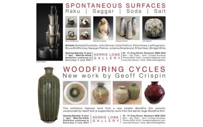 Spontaneous Surfaces & Woodfiring Cycles